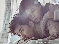 Yoon Kye Sang, Han Ye Ri для Cosmopolitan December Korea 2015 Extra