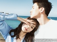 Yoon Seung Ah, Kim Moo Yul для InStyle July 2016