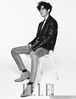 ZE:A (Kwanghee) для Elle Korea January 2016