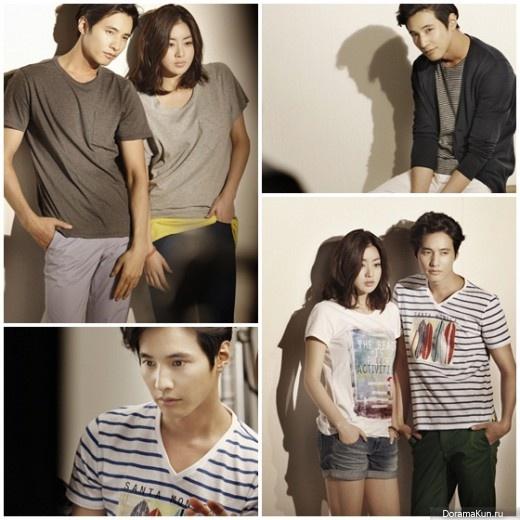 Вон Бин и Кан Сора привлекательная и красивая пара
