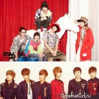 Boyfriend VS B1A4