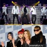 2NE1, Big Bang