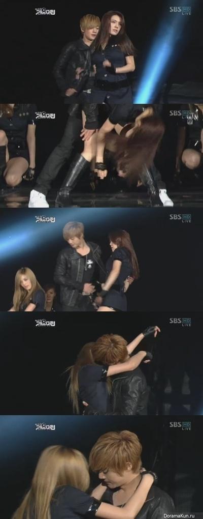 Ким Хён Чжун практически поцеловал Нану и Кахи