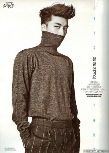 Seugri для Esquire Korea Сентябрь 2013