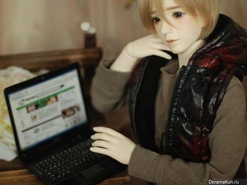 BJD - Шарнирные куколки Азии
