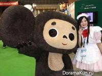 Чебурашка имел огромный успех в Японии