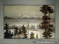 Корея. Маннехва - мозаика из раковин
