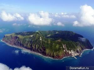 Аогашима - остров-вулкан в Японии