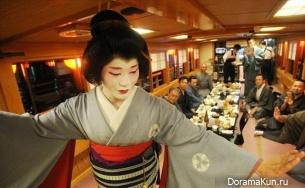 Эйтаро - единственный в Японии мужчина-гейша