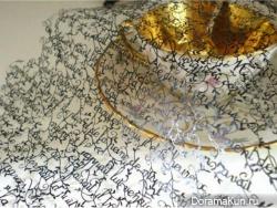 Кружева из бумаги