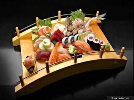 Популярные блюда японской кухни
