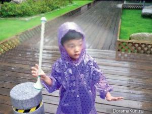 Корея. Невидимый зонтик