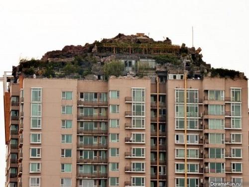 В Пекине строят виллу на крыше 26-этажки