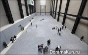 Инсталляция из семечек Ай Вэйвэйя