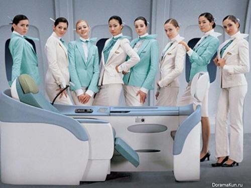 Что значит быть стюардессой в Азии