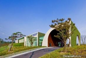 Корея. Клубный дом для игры в гольф