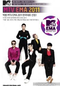 Big Bang на MTV EMA