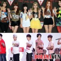 2PM, Girls' Generation и T-ara достигли золотого статуса в Японии