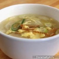 Букогук (суп из сушеной рыбы по-корейски)
