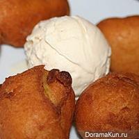 Кхао Мауто (жареные бананы)