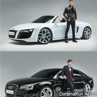Шивон и актер Ха Джун Ву стали официальными лицами Audi