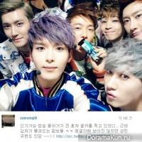 Реук из Super Junior сфотографировал группу