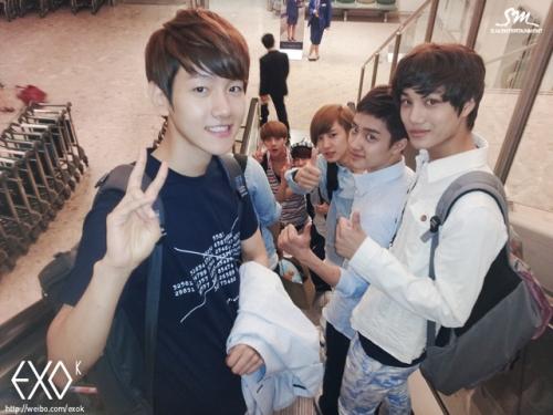 EXO-K удачно завершили поездку в Лондон