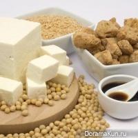 Тофу с миндалем