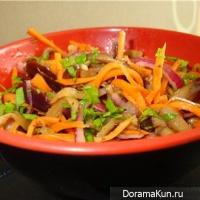 Секреты корейский салатов