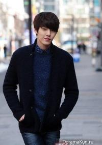 Kim Woo Bin: Я никогда не встречал настолько естественного и милого парня, как Lee Jong Suk (февраль 2013)