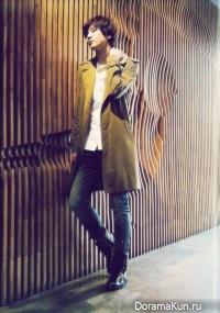 Интервью Joo Won для японского журнала K Boys (2011)