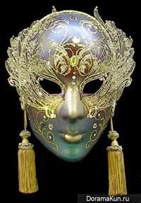 DBSK Gold Mask