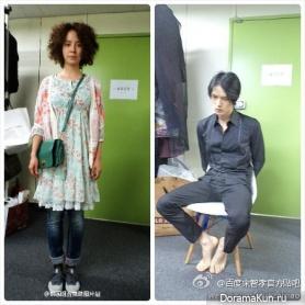 Kim Jae Joong, Song Ji Hyo Для Jackals Are Coming (Movie)