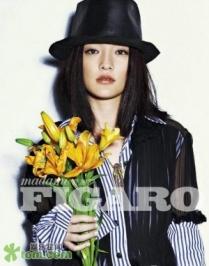Zhou Xun Для FIGARO 01/2012