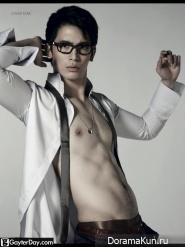 Son Yuk Для Attitude magazine, November 2011