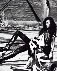 Shu Pei Qin Для Elle 09/2009