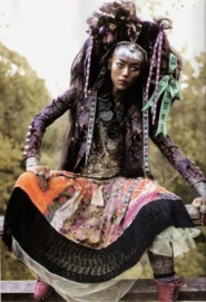Liu Wen Для Vogue Spain January 2011