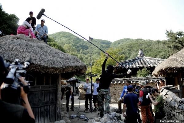 Интервью Shin Min Ah о сьемках в дораме Аран и магистрат (июль 2012)