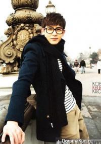 Интервью Nichkhun (2PM), включенного в Hottest 3 Photobook (ноябрь 2011)