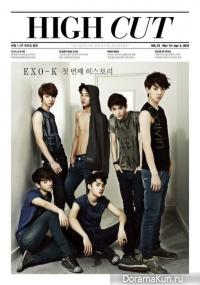 Интервью EXO-K для журнала High Cut (март 2012)