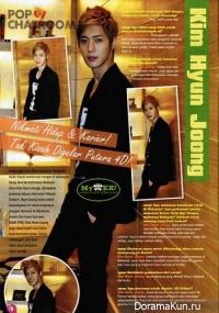 Интервью Kim Hyun Joong для журнале EPOP (октябрь 2011)