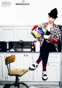 Интервью Key ( SHINee) для журнала Elle (18 февраля 2011)