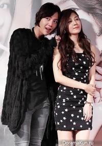 Интервью Jang Geun Suk - о сцене поцелуя с Kim Ha Neul в фильме Ты Мой Питомец (5 октября 2011)