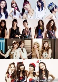 Каталог корейские группы (девушки) Часть 2 - Secret, f(x), 4minute, Sistar