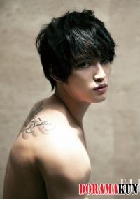 Rollers Kim Jaejoong (JYJ) for ELLE Korea