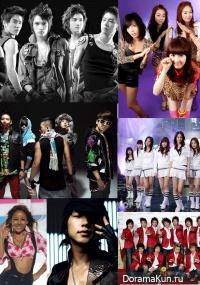 Общий каталог тв-шоу K-pop и J-pop