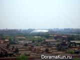 Китай. Большой Национальный театр в Пекине