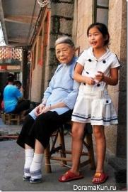 Китай. Деформация ступней.