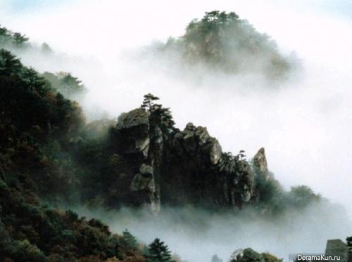 Китай. Достопримечательности Лушань.