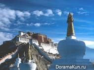 Китай. Дворец Потала в Тибете